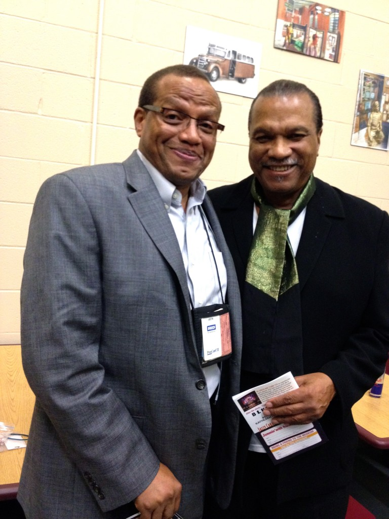 Cb photo opportunity with Billy Dee Williams